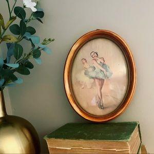 Vintage Ballerina Wall Art Peter Watson Studios